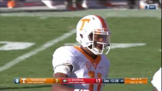 2016 Tennessee vs Georgia: Offense Play by Play
