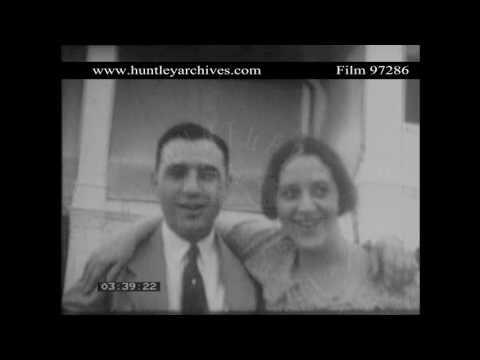 The Frankel Family, Siglap, Singapore in 1931.  Archive film 97286