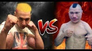 Обзор боя: Олег Монгол - Руки Базуки - Видео от Какой-то парень