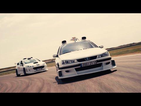 PEUGEOT 406 V6 Vs 407 V6 TAXI MOVIE - Movie Cars Drag Races