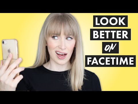 HOW TO LOOK BETTER ON FACETIME 📱5 Hacks To Help You Look Better On Video Calls (+ Stop Cringing!)