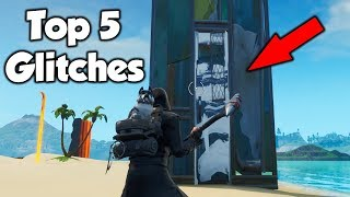 The Top 5 Fortnite Glitches In 1 Video