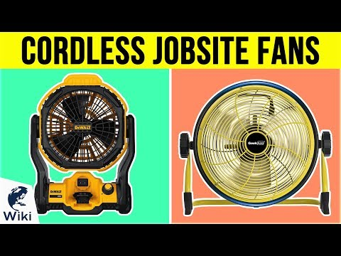 7 Best Cordless Jobsite Fans 2019