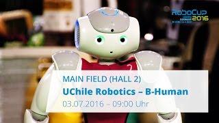 [RoboCup 2016] SPL Semi Final: UChile Robotics - B-Human