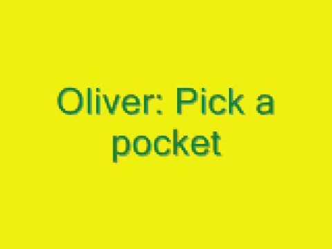 Oliver: Pick a pocket