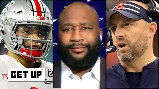 Matt Nagy is lying! - Marcus Spears thinks Justin Fields will be the Bears' starter | Get Up