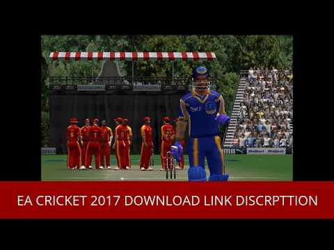 EA SPORTS CRICKET 2017 Game Download Free icc world cup 2017