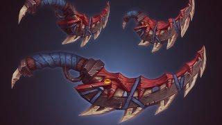 Fantasy dagger texturing tutorial / commentary