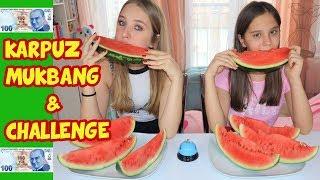 KARPUZ MUKBANG & KARPUZ YEME YARIŞMASI | CHALLENGE | 100 TL ÖDÜLLÜ - Eğlenceli Çocuk Videosu
