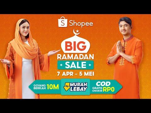 Shopee Big Ramadan Sale | Rayakan Kemeriahan Ramadan Bersama Al dan Andin