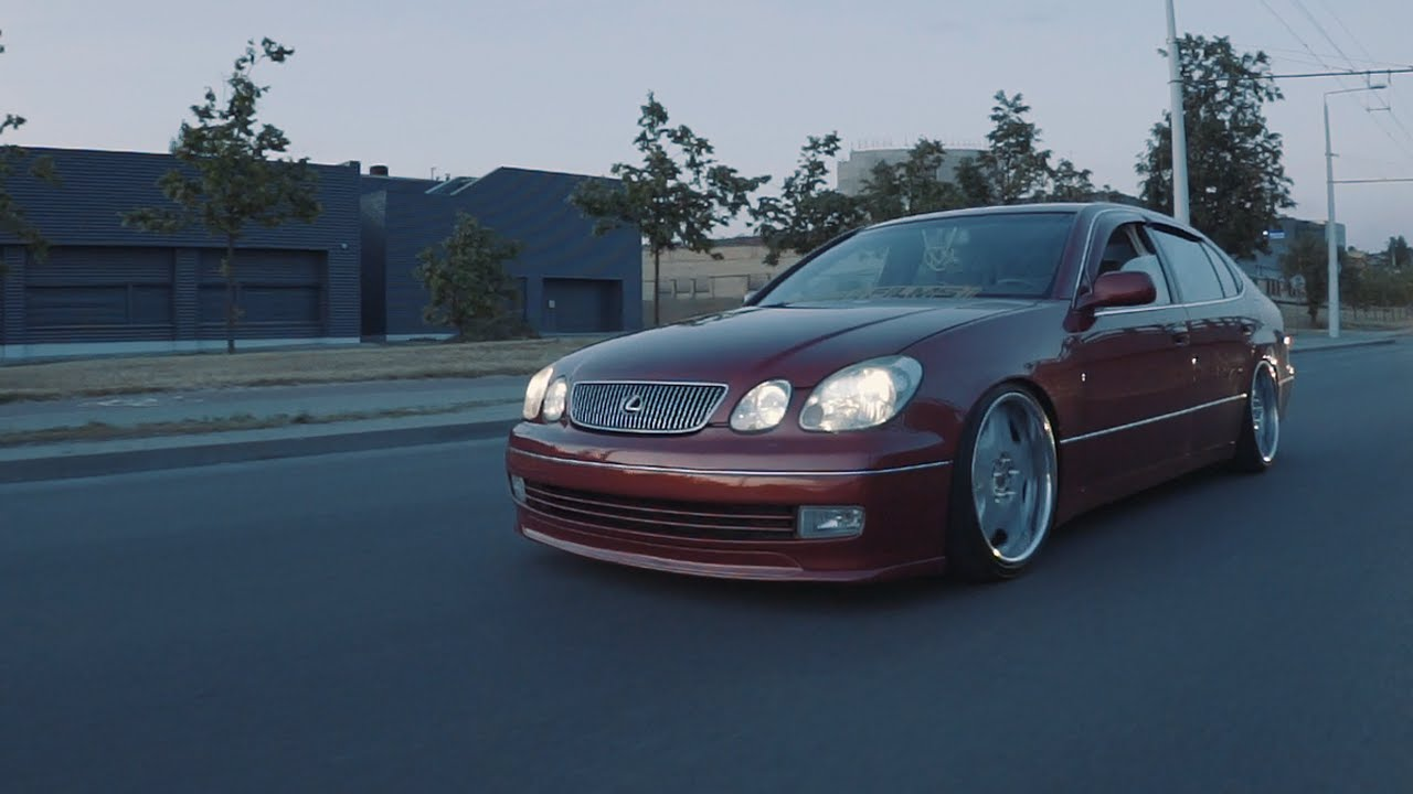 Stanced and daily driven Lexus GS300 - YouTube