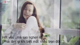 Sao Ta Lặng Im - Hồ Ngọc Hà ( With Lyrics)