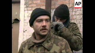 RUSSIA: CHECHNYA: RUSSIAN PRISONERS OF WAR