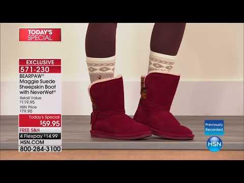 HSN | BEARPAW Footwear 10.23.2017 - 06 AM