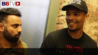Jordan Thompson talks last fight and says Sam Hyde doesn't want to fight him