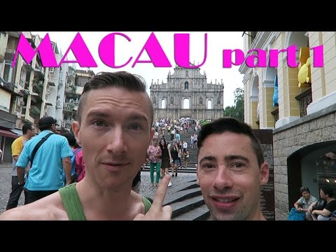 Our weekend in Macau : Gay couple travels