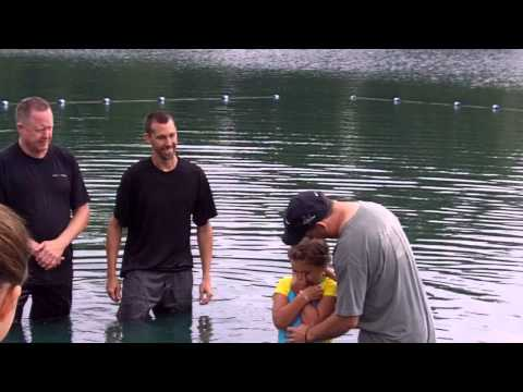 baptism at El Shaddai Ranch, Missouri