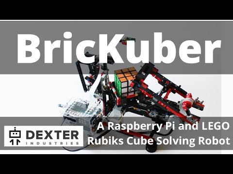 BricKuber - How To Build a Raspberry Pi Rubiks Cube Solving Robot