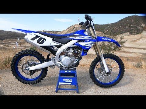 First Ride 2019 Yamaha YZ450F  Motocross Action Magazine