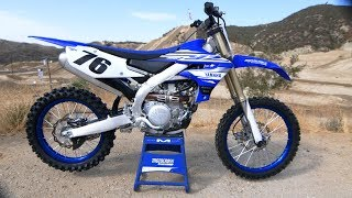 First Ride 2019 Yamaha YZ450F - Motocross Action Magazine