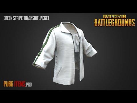 0bbd78253c7b6 Green Stripe Tracksuit Jacket
