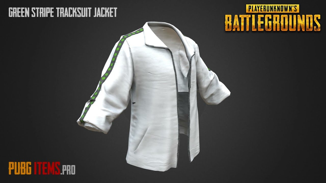 3d Model By Pubgshowcase: White Leather Jacket Pubg