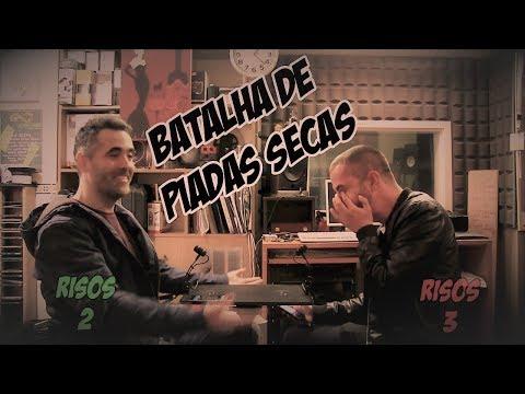 Batalha de Piadas Secas Ep.1 - Filipe vs João | NãoQueresNada