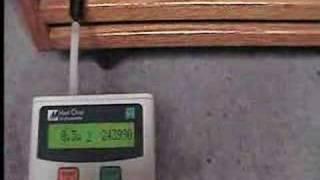 EZ Air Wood HEPA Air Cleaner Laser Particle Test