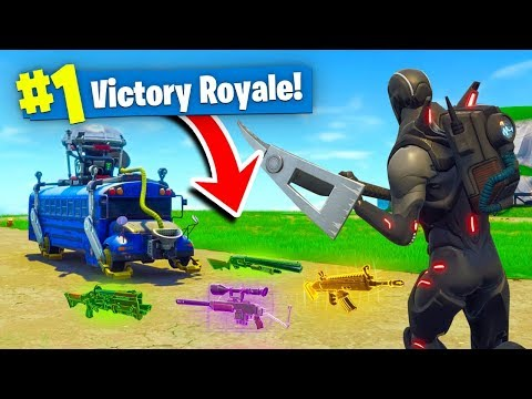 The SPAWN ISLAND CHALLENGE In Fortnite Battle Royale!