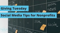 Giving Tuesday Social Media Tips for Nonprofits