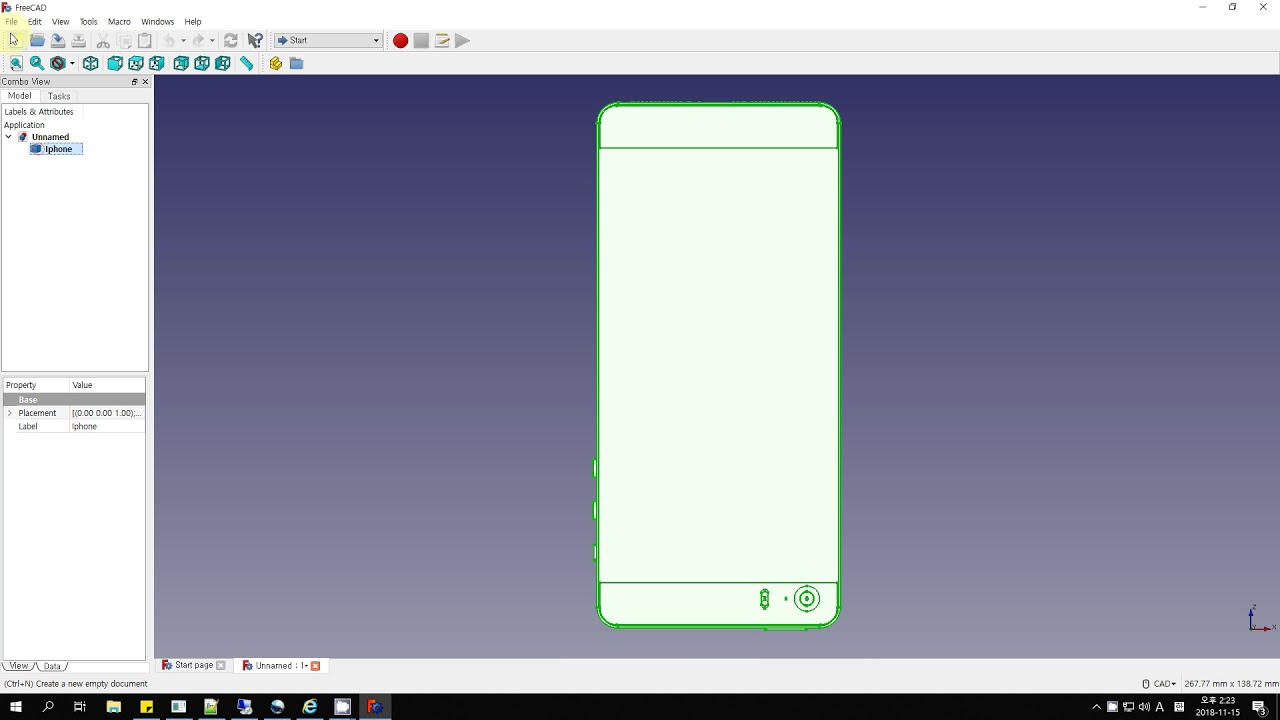 FreeCAD - CAD File Convert STEP to DXF