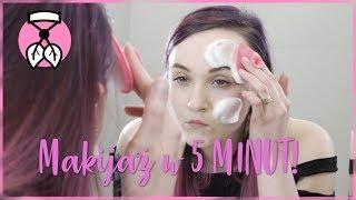 LETNI makijaż w 5 MINUT! | Zalotki