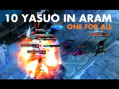 10 Yasuo In Aram One For All Youtube Full lol gameplay mit veigar shows you how to build and how to strategize to have a major impact on your team winning the game! 10 yasuo in aram one for all