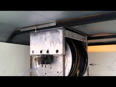 Enclosed Power Washing Trailer Build