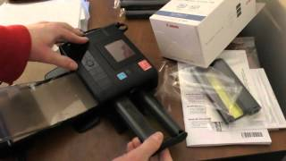 My UnBoxing and Review Canon Selphy CP1200 Compact Photo Printer
