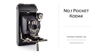 Vintage Camera Lab — No.1 Pocket Kodak