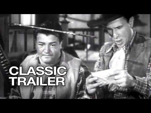 Ride 'Em Cowboy Official Trailer #1 - Lou Costello Movie (1942) HD