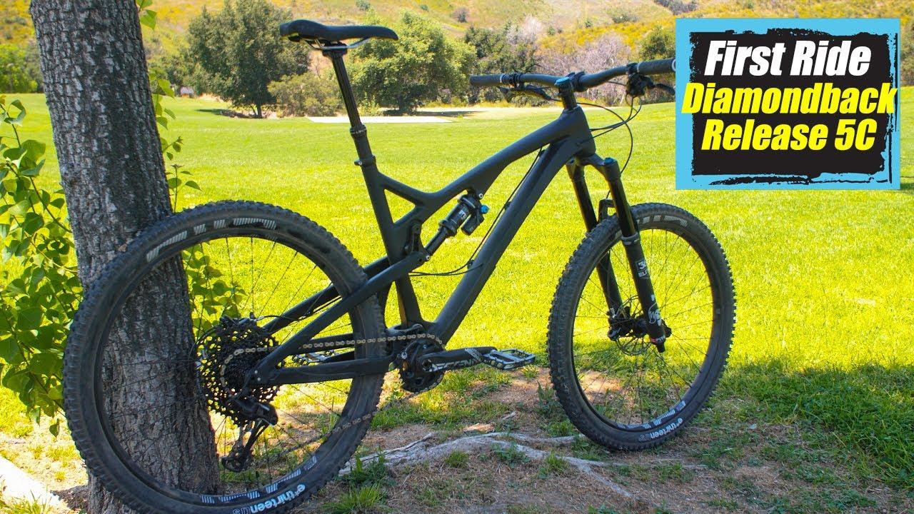 First Ride Diamondback Release 5C - Mountain Bike Action Magazine