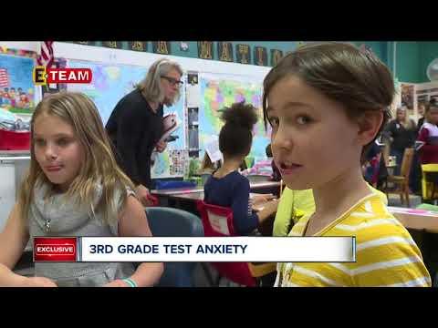 Third grade teacher helps students de-stress ahead of  state testing