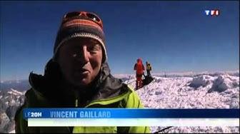 Hauteur du Mont-Blanc en 2011