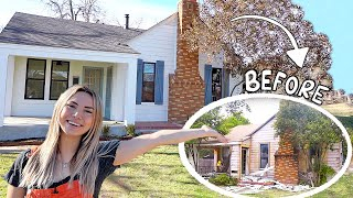 AIRBNB HOUSE TOUR!  before and after renovations!