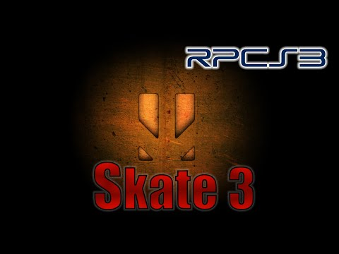RPCS3 - Skate 3 - GTX 1050 Ti 4GB GDDR5 & Intel Pentium