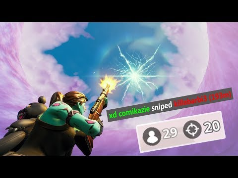 Sniping in Fortnite is too easy now...