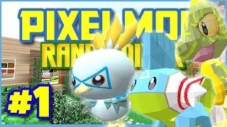 Pixelmon Randomizer S3 ★ CRAZY STARTERS! Episode 1 (Minecraft Roleplay)