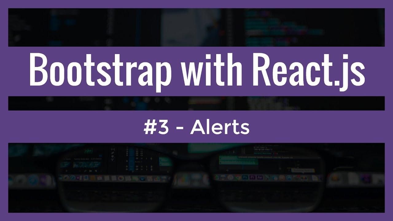 react bootstrap alert