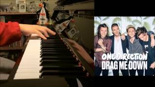 One Direction - Drag Me Down - New Group Single (Amosdoll Piano Cover)