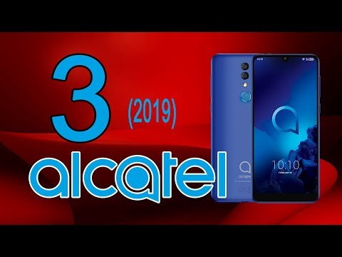 Alcatel 3 (2019) - безрамочный экран, NFC и доступная цена