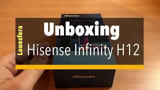 Unboxing Hisense Infinity H12