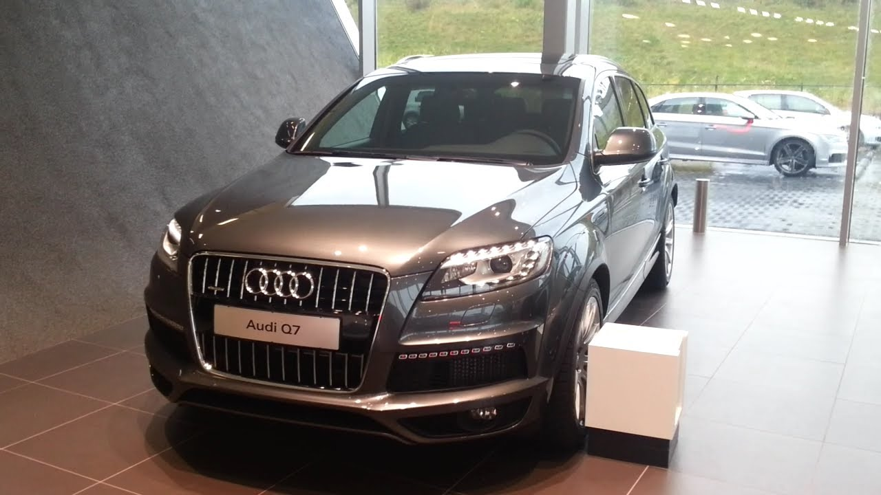 Audi Q7 2015 In Depth Review Interior Exterior - YouTube