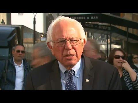 Mainstream Media Calls For Bernie To Drop Out